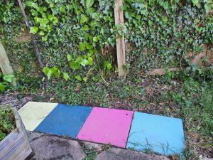 Painted slabs