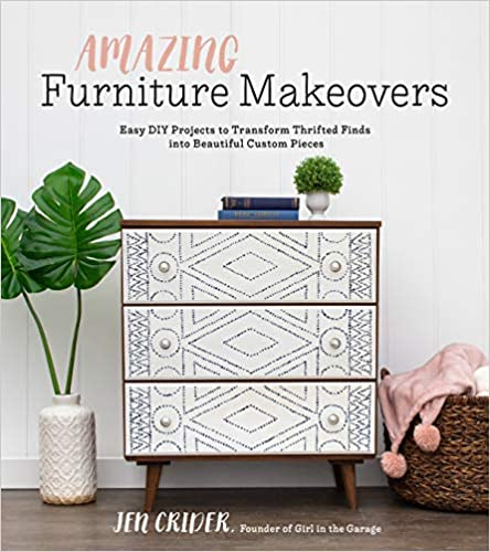 furniture makeover upcycle books